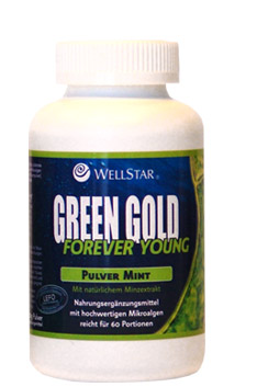 GREEN GOLD MINT (Forever Young) 180g por