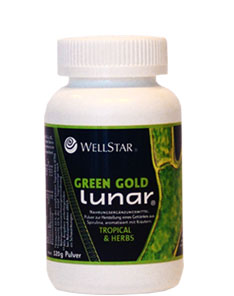 GREEN GOLD LUNAR (Tropical & Herbs) 120g por