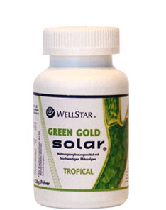 GREEN GOLD SOLAR (Tropical) 120g por